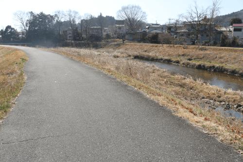 越辺川遊歩道(西和田)