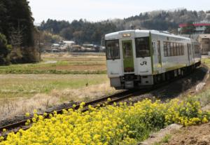 『お花見列車 村里へ』